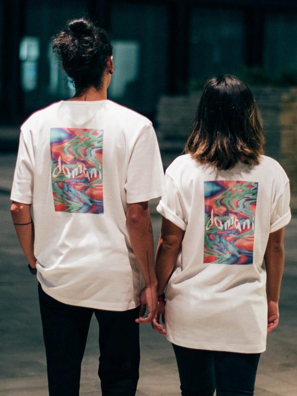 domani print tshirt